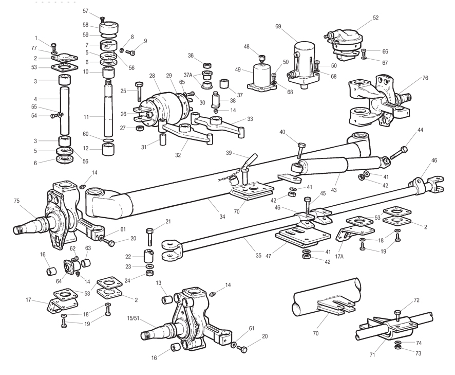Meritor Drive Axle Parts : Parts online meritor