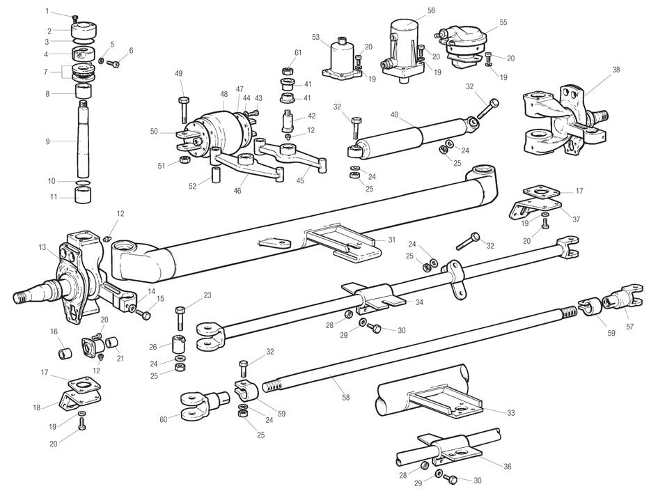 meritor differential parts breakdown