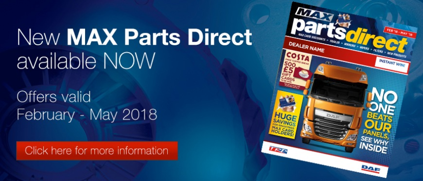 New MAX Parts Direct