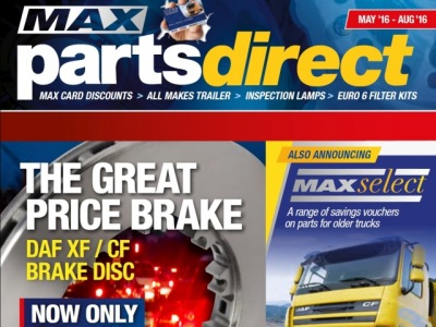 New Max Card Parts Discounts Available 1st May to 31st August 2016